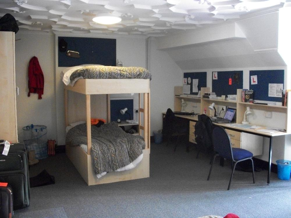 Harlaxton dorm room 2