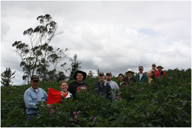 FLSA Ecuador in field
